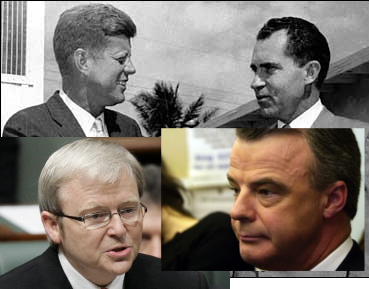 Kevin Rudd and Brendon Nelson, Kennedy and Nixon